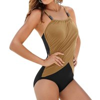 Bikini Women One-piece Swimwear Backless Beachwear Bandage Swimsuit Bikini bather beach wear maillot de bain femme 2Colors